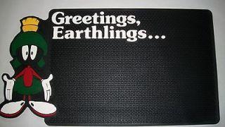MARVIN the Martian Greetings Earthlings Welcome Floor Door Mat