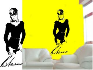 Wall Art Quaity Vinyl Stickers Decals RIHANNA