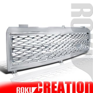 LAND RANGE ROVER L322 CHROME MESH FRONT GRILL ABS (Fits Range Rover