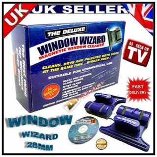 ORIGNAL WINDOW WIZARD WID MAGICAL MAGNETIC WINDOW CLEAN