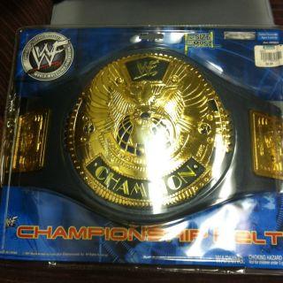 WWE Attitude Era World Championship Title Belt Jakks Pacific