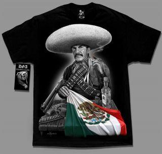 Mexicano Mexican Flag Emilio Fernandez El Indio M 4XL T Shirt DGA