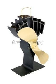 ECOFAN ULTRAIR 810CA BBX HEAT POWERED STOVE FAN 11.375Lx17.62​5