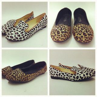 leopard print flats in Flats & Oxfords
