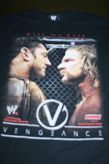 Vengeance Hell in a Cell Triple H v. Batista Vintage Wrestling WWE