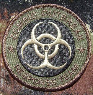 ZOMBIE HUNTER OUTBREAK RESPONSE TEAM BIOHAZARD ARMY MILSPEC FOREST