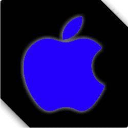 Reflective Apple Logo Iphone Ipad Ipod Imac Car Sticker Decal 00401