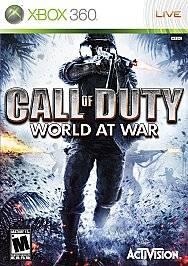 Call of Duty World at War Xbox 360, 2008