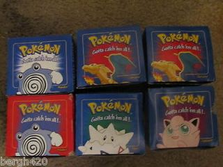 lot of 6 pokemon pokeballs from burger king in boxes and plastic new
