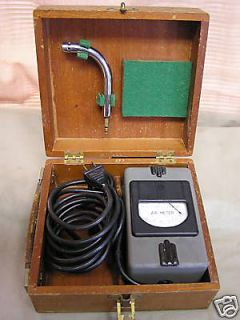 Antique Hastings Instrument Westinghouse Air Meter U 1