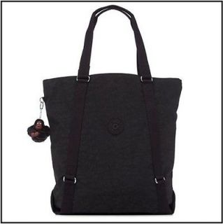 Kipling Kyoko Large Tote Bag TM2004 Black / Light Camel / Shady Grey