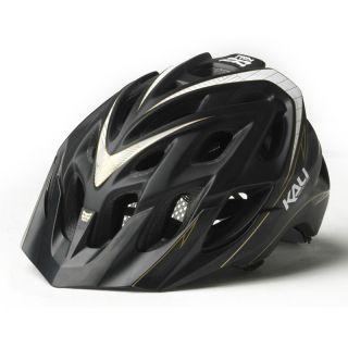 Kali Protectives Chakra PLUS MTB Helmet Black Stripes XS/S