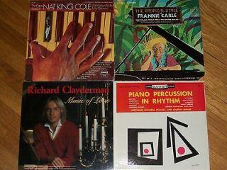 PIANO MUSIC frankie carle NAT KING COLE richard clayderman ARTHUR