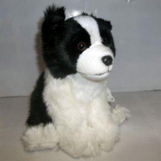 Great Gift  Floppy Floppy Border Collie Scottie Dog Plush Stuffed Toy