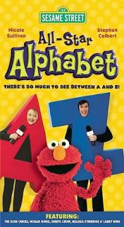 Sesame Street   All Star Alphabet DVD, 2005