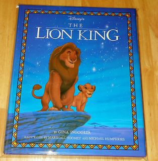 Disneys the Lion King by Gina Ingoglia, Marshall Toomey and Michael