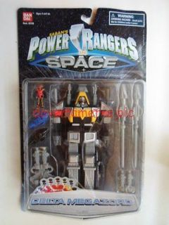 Power Rangers in Space 7 inch DELTA MEGAZORD Micro Playset Sealed