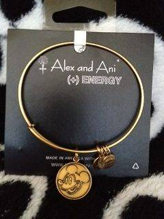 DiSNEY ALEX AND ANI + ENERGY RUSSIAN GOLD EXPANDABLE MICKEY MOUSE