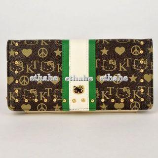 Hello Kitty Wallet Card Holder Coin Purse Pouch SEBO