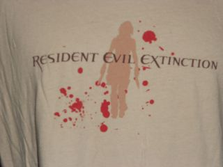 RESIDENT EVIL, EXTINCTION, PROMOTIONAL SIZE LARGE T SHIRT AWESOME