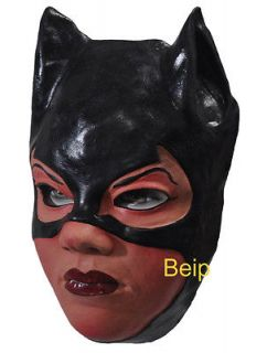M74 PARTY COSTUME MASK   SEXY HEROINE CAT WOMAN CAT GIRL BATGIRL BLACK