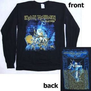 IRON MAIDEN LIVE AFTER DEATH 2008 TOUR SHIRT BRAND NEW XXL 2XL
