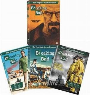 Breaking Bad DVD SET. SEASONS 1,2,3,4. . BRAND NEW