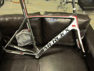 EDDY MERCKX EMX 7 carbon cycling frame framest. NIB only pair on