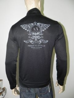 New Armani Exchange AX Mens Slim/Muscle Fit Back Logo Track Jacket