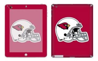 Arizona Cardinals Vinyl Skin Cover Decal Sticker for iPad 2 Body Guard