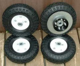 Newly listed 4 GO KART WHEELS cart 1 SET minibike mini bike NEW