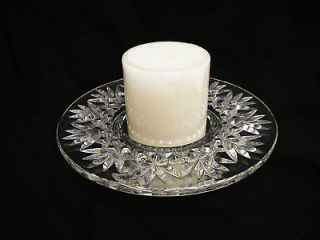 WATERFORD Crystal Bethany PILLAR Candlestick CANDLE Holder IRELAND