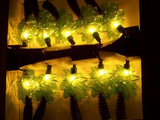 Palm Trees Party Patio Awning Camping Travel Trailer String Lights
