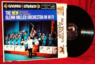 THE NEW GLENN MILLER ORCHESTRA IN HI FI RAY MCKINLEY 1958 RCA VICTOR