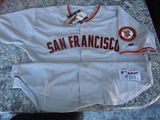 Bonds San Francisco Giants #25 Authentic Russell AWAY Jersey AUTHENTIC