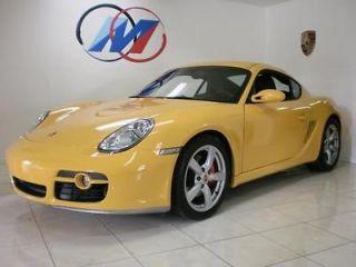 Porsche  Cayman CAYMAN S Cayman S  8k MILES, PASM, SPORT SEATS, SPORT