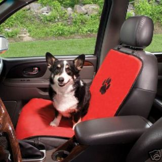 Guardian Gear Dog Pet Single Car Seat Cover RED