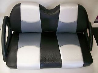 Club Car DS 00 & Up Golf Cart Front Seat Replacement & Covers Set(3