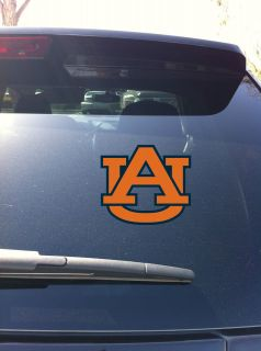 Auburn Tiger UA Logo SEC Window vinyl sticker decal Auburn University