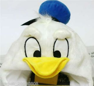 Disney Donald Duck Hat Cap Costume Plush Cosplay Soft Fancy Cute New