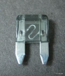 2A 2 Amp NEW ATM Mini Blade Fuse #A8 1 lot  50 pcs