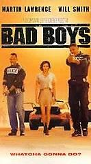 Bad Boys VHS, 1995