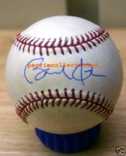 Barack Obama autograph signed MLB baseball PRESIDENT