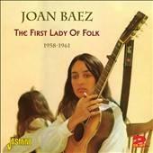 First Lady of Folk 1958 1961 by Joan Baez CD, Apr 2012, 2 Discs