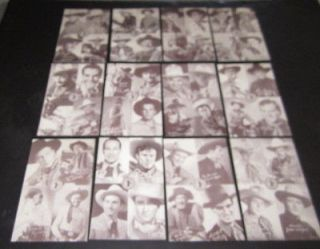 Lot of 12 1960s Pacific Ocean Park Arcade WESTERN COWBOY Movie Star