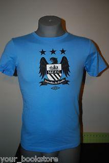New Manchester City F.C. MCFC Umbro Soccer Football Jersey Tee T Shirt