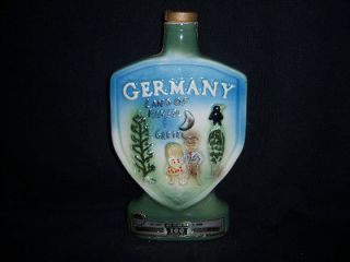 Beam Whiskey Decanter Bottle GERMANY 1971 Hansel Gretel Bar mancave