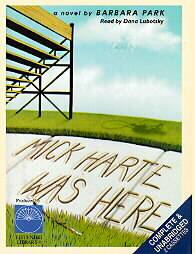 Mick Harte Was Here by Barbara Park 1997, Unabridged, Audio Cassette