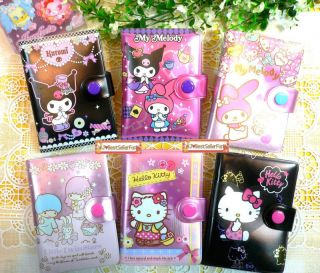 24 pockets Sanrio ID Name Credit Business Card Holder Case Purse Pouch