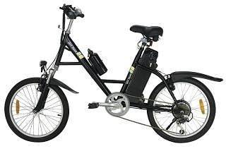 black electric scooter e bike bicycle 250w moped battery 24v powered
